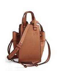 Loewe Mini Hammock Calfskin Leather Hobo Bag