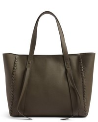Raye leather tote grey medium 4950291