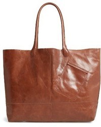 Hobo Rozanne Leather Tote Brown