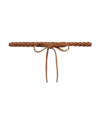 Isabel Marant Darla Braided Leather Waist Belt