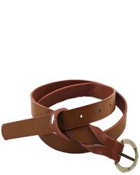 Fashion Beautiful Long Thin Pu Leather Waist Belt