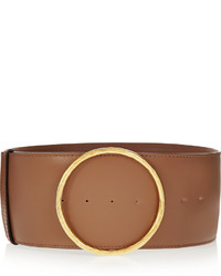Faux leather waist belt medium 339715
