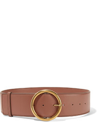 Stella McCartney Faux Leather Waist Belt Tan