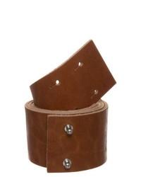 Kiomi waist belt brown medium 204083