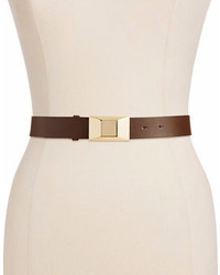 Kate Spade New York Faceted Bow Trouser Belt