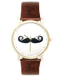 Asos Moustache Face Watch