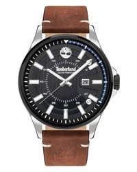 Timberland Bleder Solar Powered Leather Watch