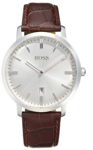 BOSS Tradition Leather Strap Watch 40mm
