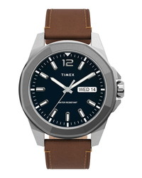 Timex Essex Avenue Leather Watch
