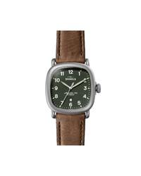 Shinola Guardian Leather Watch