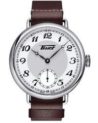 Tissot Heritage 1936 Mechanial Leather Strap Watch 45mm