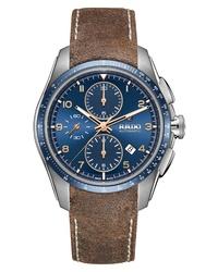 Rado Hyperchrome Automatic Chronograph Leather Watch