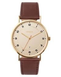 Breda Pei Leather Watch