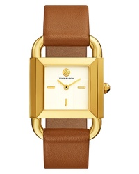 Tory Burch Phipps Leather Watch