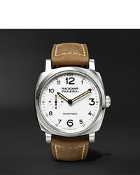 Panerai Radiomir 1940 3 Days Automatic Acciaio 42mm Stainless Steel And Leather Watch Ref No Pam00655