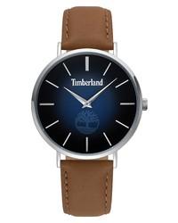 Timberland Rangeley Leather Watch