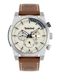 Timberland Sherbrook Chronograph Leather Watch