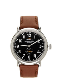 Shinola Silver And Grey The Runwell 47mm Watch