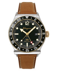 Salvatore Ferragamo Sport Leather Watch