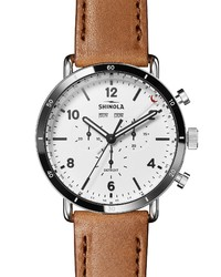 Shinola The Canfield Leather Watch