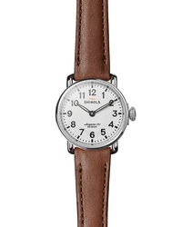 Shinola The Runwell Leather Watch