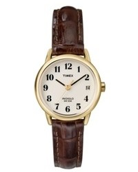 Timex Watch Brown Leather Strap T20071um