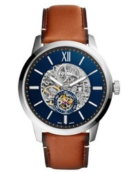 Townsman automatic leather strap watch 48mm medium 4342850