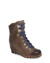 Sorel Conquest Waterproof Wedge Boot