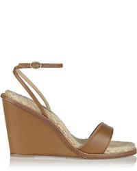 Hampton leather wedge sandals medium 261435