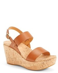 Kork ease austin slingback wedge sandal medium 261434