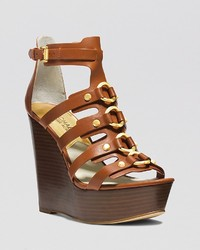 MICHAEL Michael Kors Michl Michl Kors Open Toe Platform Wedge Sandals Nadine