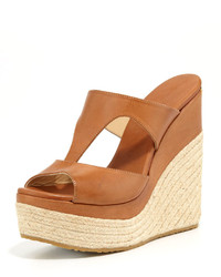 Pledge t strap rope wedge slide espadrille medium 167491