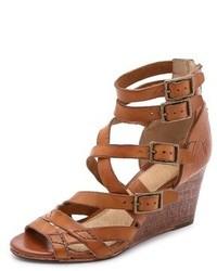 Rain strappy wedge sandals medium 250974