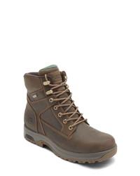 Dunham 8000 Works Waterproof Plain Toe Boot