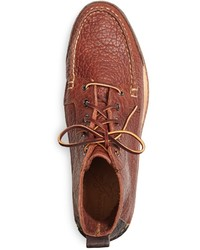 df68ee0270c60 ... Brooks Brothers Rugged Leather Boots ...