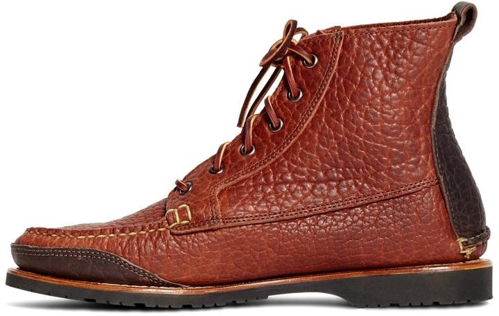 9e9ca62e2680c Brooks Brothers Rugged Leather Boots