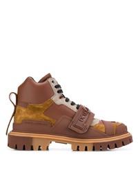 Dolce & Gabbana Colour Block Trekking Boots