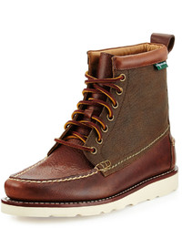 Eastland 1955 edition sherman 1955 leather lace up boot dark tan medium 389145