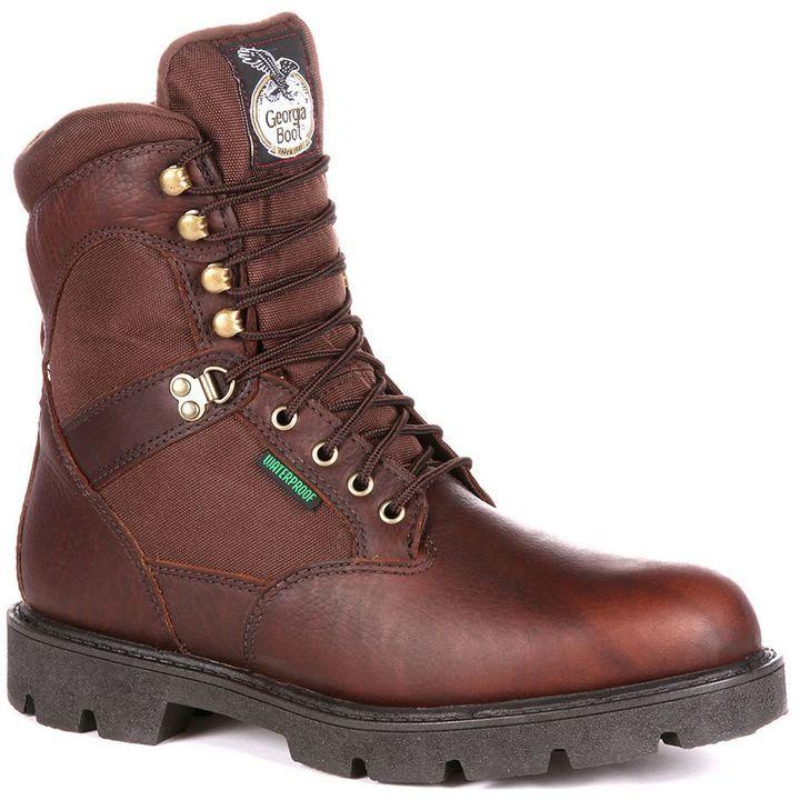 Georgia Boot Homeland 8 In Waterproof Insulated Work Boots | Where ...