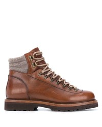Brunello Cucinelli Lace Up Boots