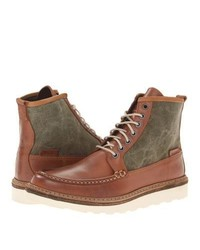 Wolverine Bento Moc Toe Wedge Lace Up Boots