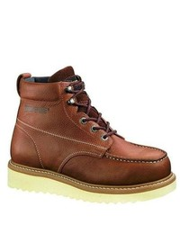 e9b19407648 Men's Brown Work Boots by Wolverine | Men's Fashion | Lookastic.com