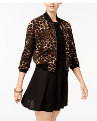 Juniors bomber jacket and fit flare dress medium 5375646