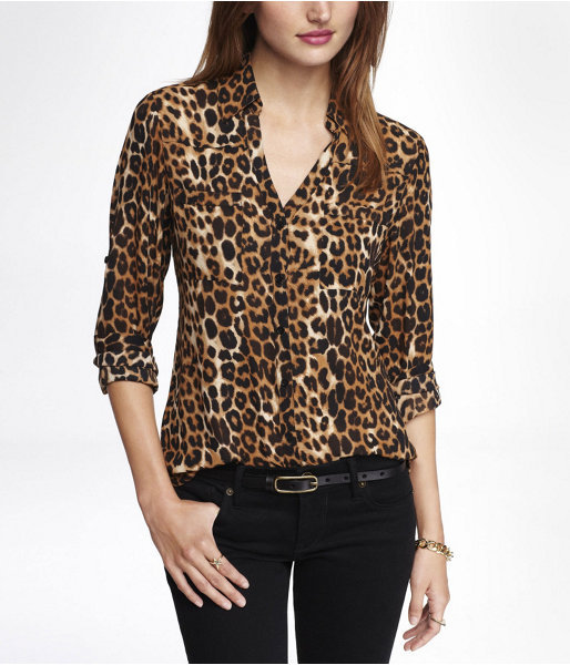 Where To Buy A Leopard Print Blouse 27
