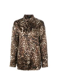 Leopard print shirt medium 7863039