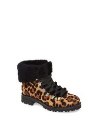 J.Crew Leopard Calf Hair Nordic Boot