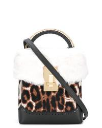 The Volon Leopard Mini Box Bag