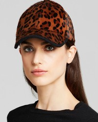 Bloomingdale's August Accessories Calf Hair Baseball Cap