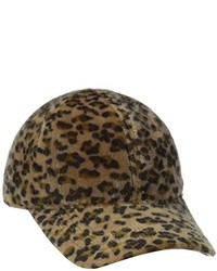 San Diego Hat Company San Diego Hat Faux Fur Leopard Cap