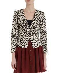 Thakoon Addition Leopard Blazer